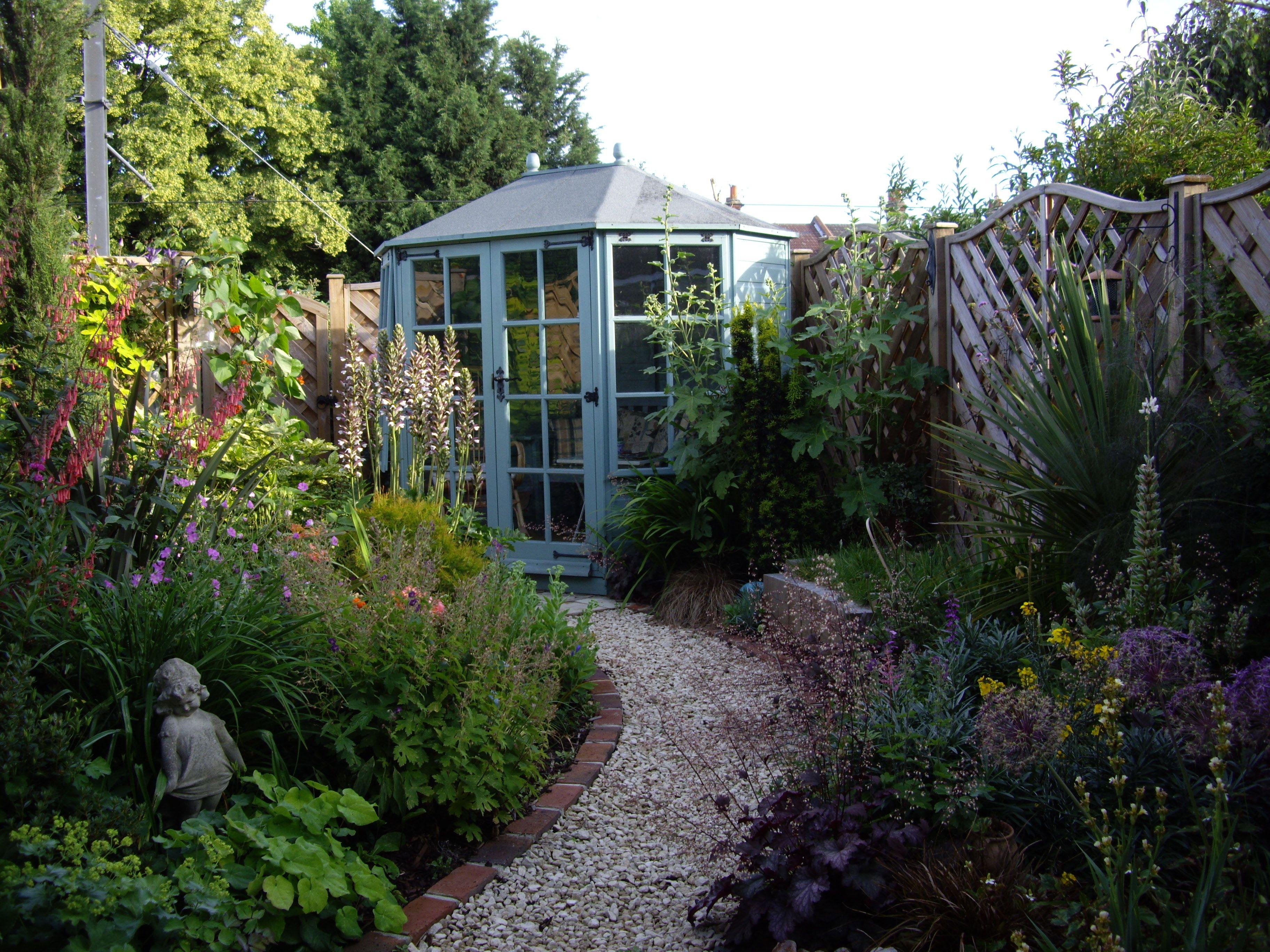 Victorian Cottage Beckenham Summer House Garden Design Victorian Gardens Small Garden Design