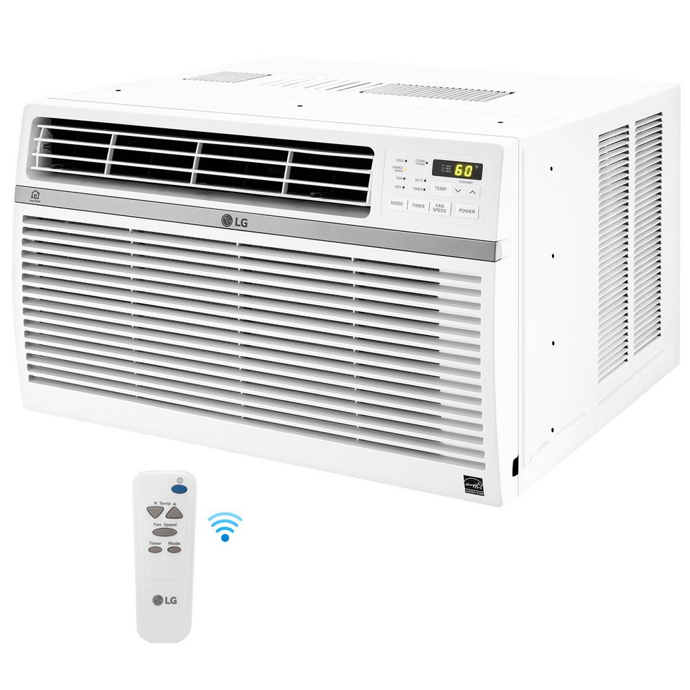LG Electronics 8,000 BTU Window Smart (WiFi) Air