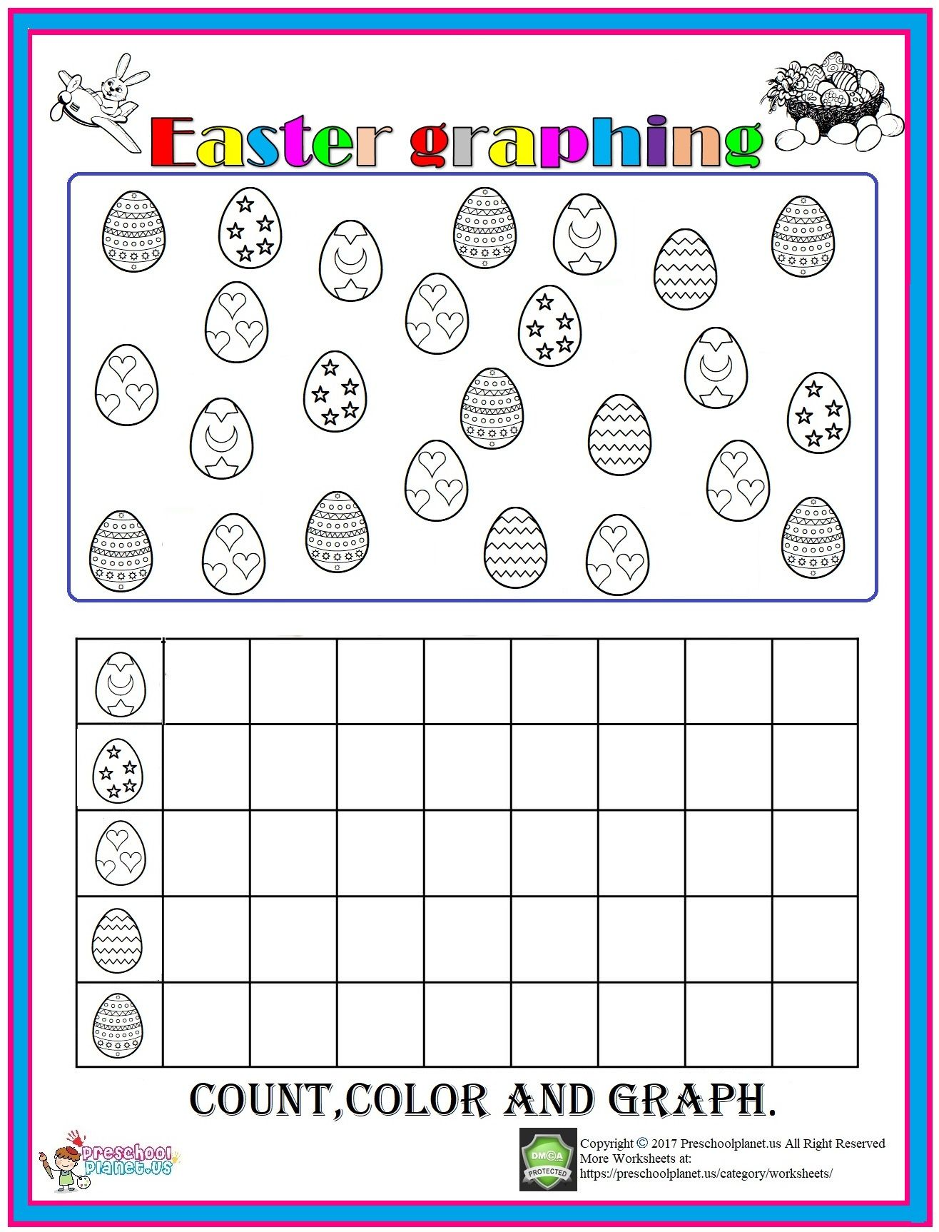 Easter Graph Worksheet
