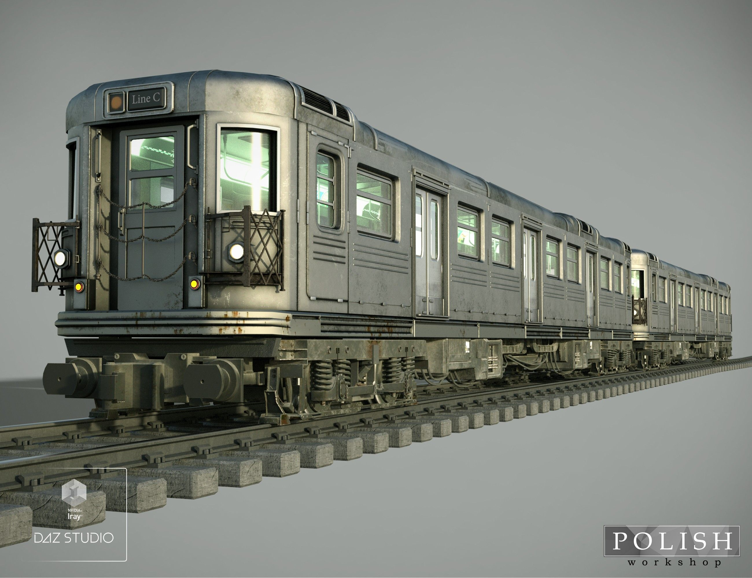 subway train 3d models and 3d software by daz 3d metro pinterest