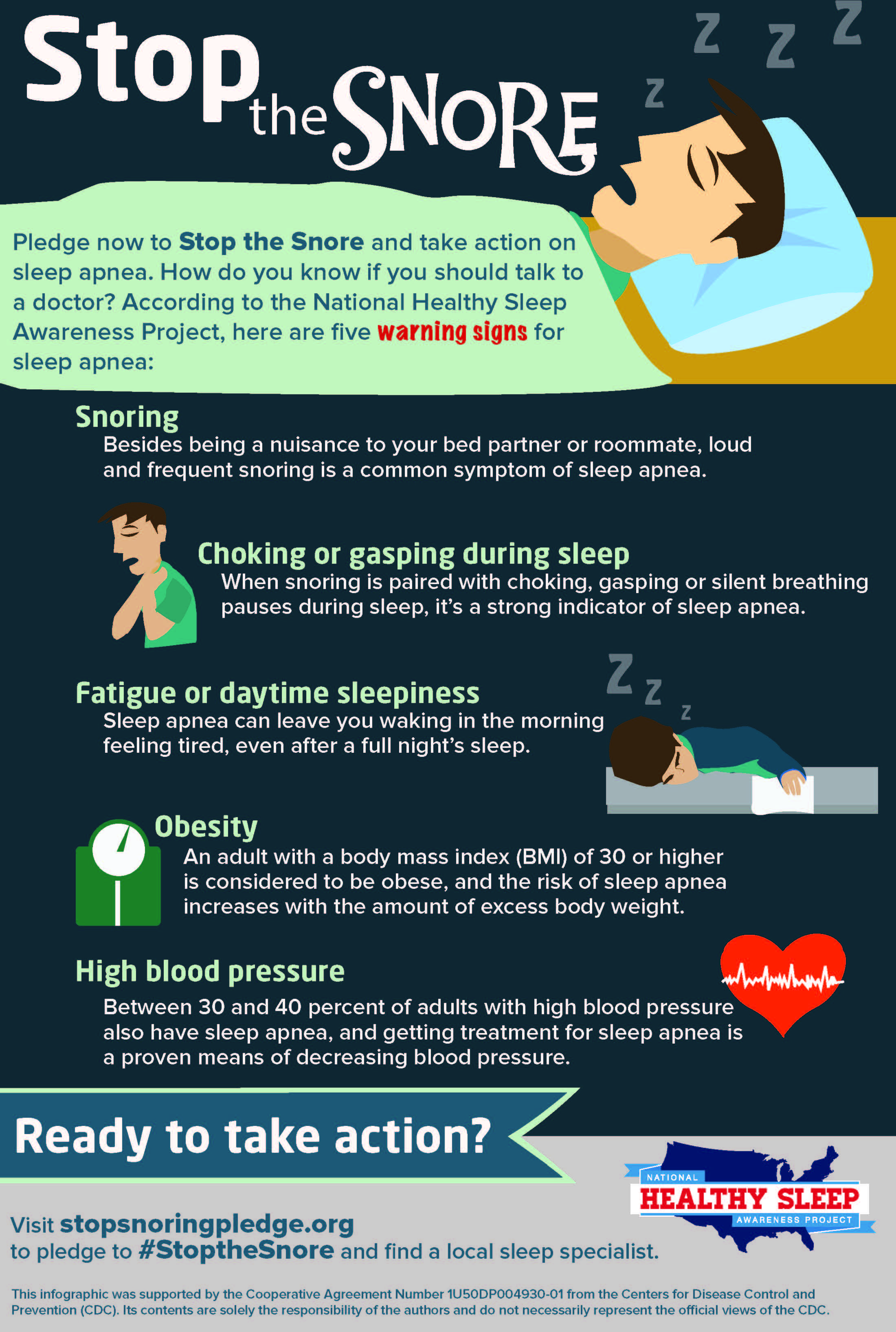 Stop the Snore - why snoring is a sign of bigger problems