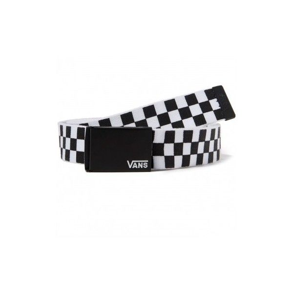 d380e03542e8 Vans Deppster II Web Belt - Black White ( 15) ❤ liked on Polyvore featuring  accessories, belts, black and white belt and vans belt