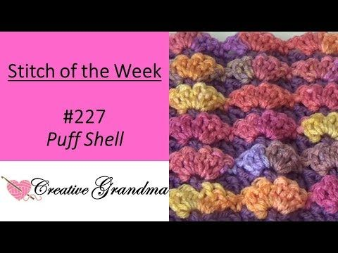 1 Stitch Of The Week 227 Puff Stitch Free Pattern At The End Of