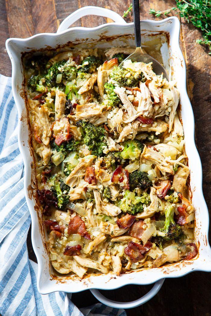 Paleo Chicken Broccoli Rice Casserole  Recipe  Whole -1493