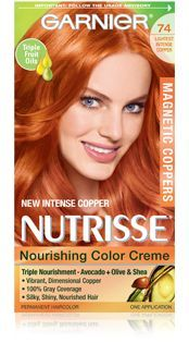 L Oreal High Intensity Shimmering Colour Red R48 Intense Deep Auburn Hair Color