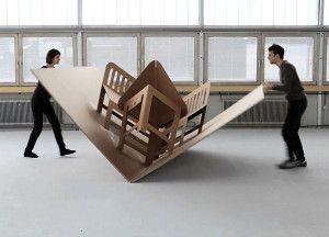 Kartonmöbel - Liddy Scheffknecht