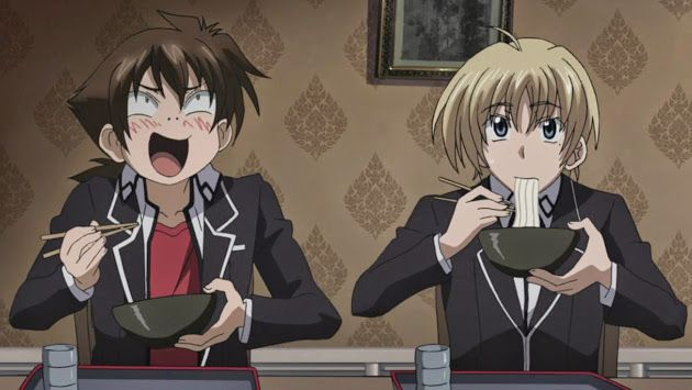 HIGHSCHOOL DXD] Issei and Yuuto | ANIME <3 | High school, Anime, School