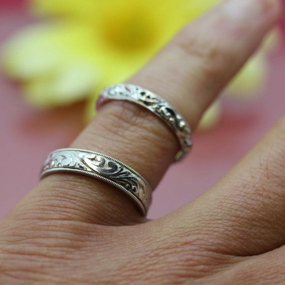 Antique estate 14k white gold Victorian by thedirtydiamond on Etsy