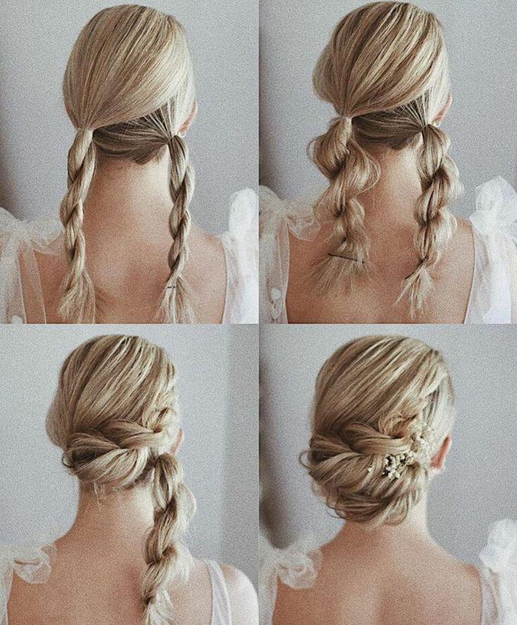 Wunderschöne und einfache Heimkehr Frisuren Tutorial Langes Haar #diyhairstyleslong #einfac... - Diana #hairmakeup