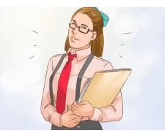 Female required for personal secretary for office