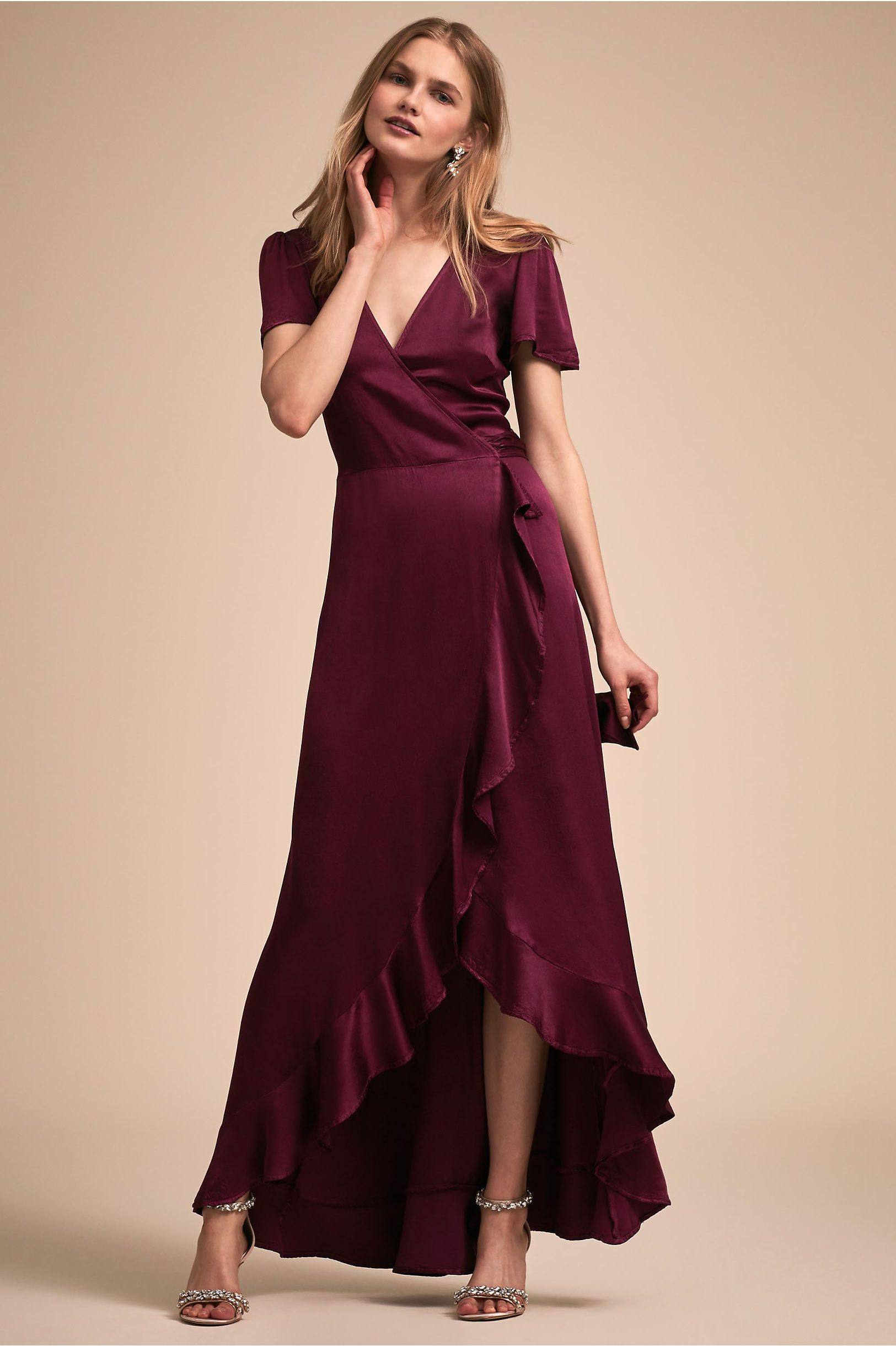 33b6cd98c37 Phoebe Dress Hydrangea in Bridal Party