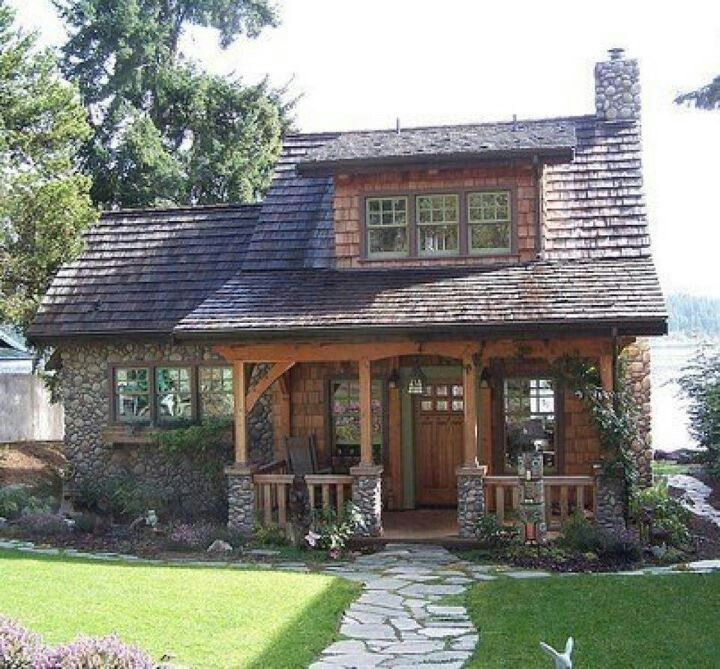 Beautiful Cottages Beautiful Little Cottage Cool Little House Small Rustic House Cottage Style Homes Timber House