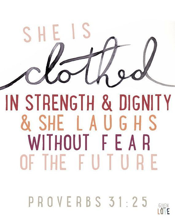 She is Clothed in Strength Proverbs 31 #ReflectingDiscipleship #Robinality