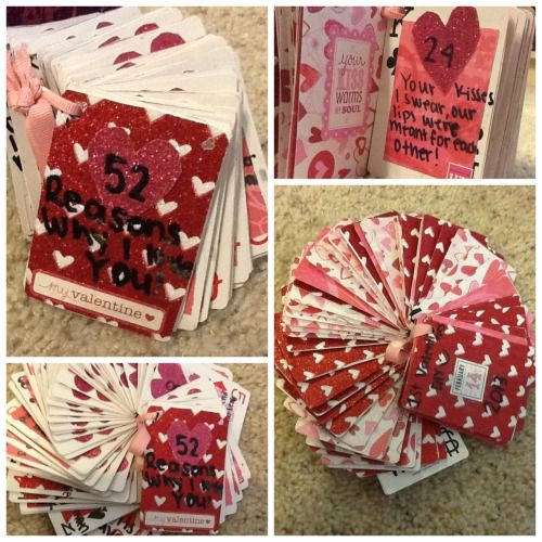 10 reasons why i love you tumblr DIY gifts for him Pinterest