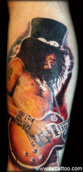 0a74c23232f86 Slash from Guns n' Roses tattoo | tattoo ideas... | Tattoos, Picture ...