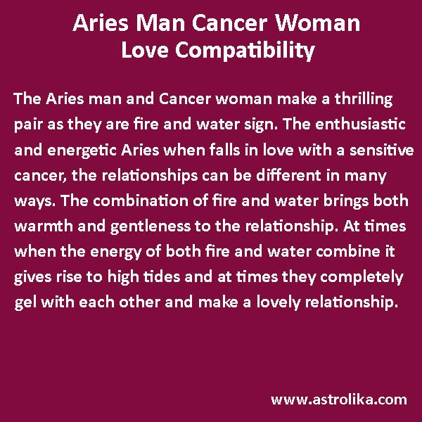 Online Cancer Compatibility With All Zodiac Signs On Astrolika Com