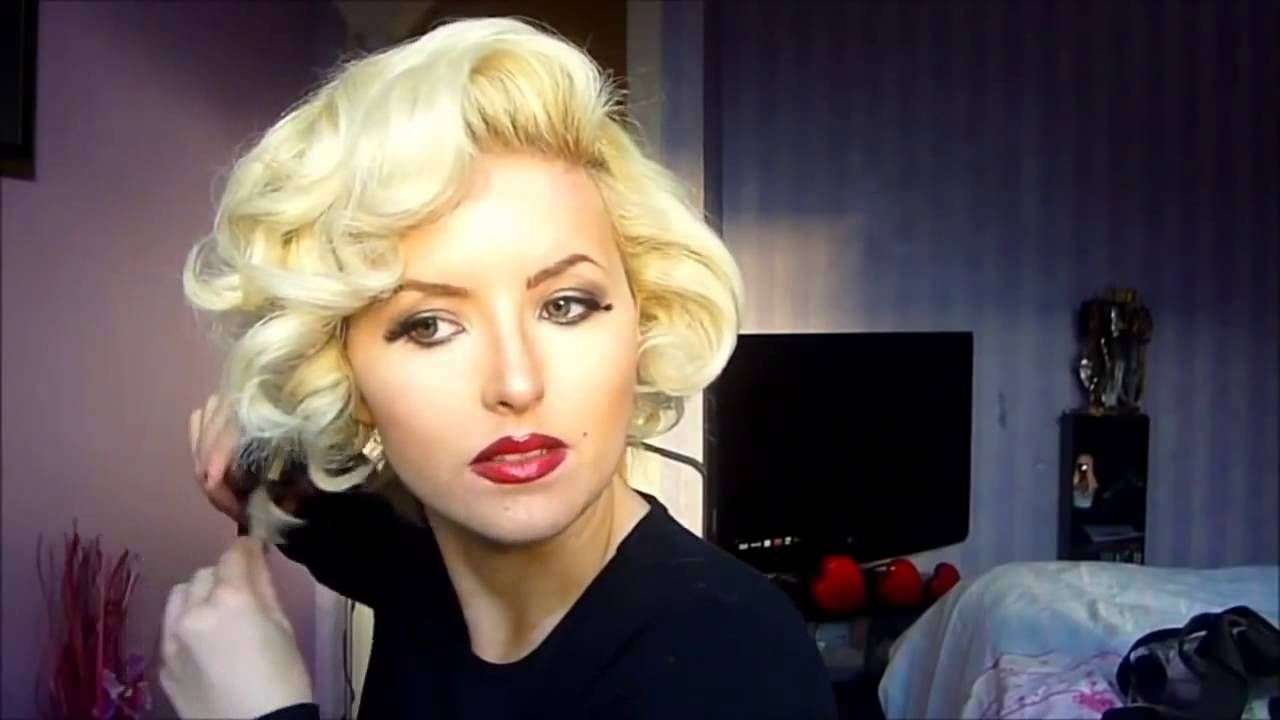 Hairstyles marilyn monroe hair tutorial vintage icon new 2015 hairstyles marilyn monroe hair tutorial vintage icon new 2015 baditri Images