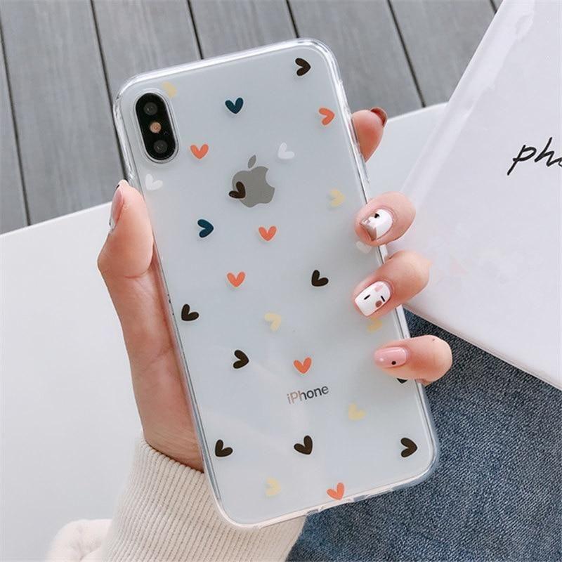 iphone 11 Pro X XS Max XR 7 8 Plus Case Transparent Silicon