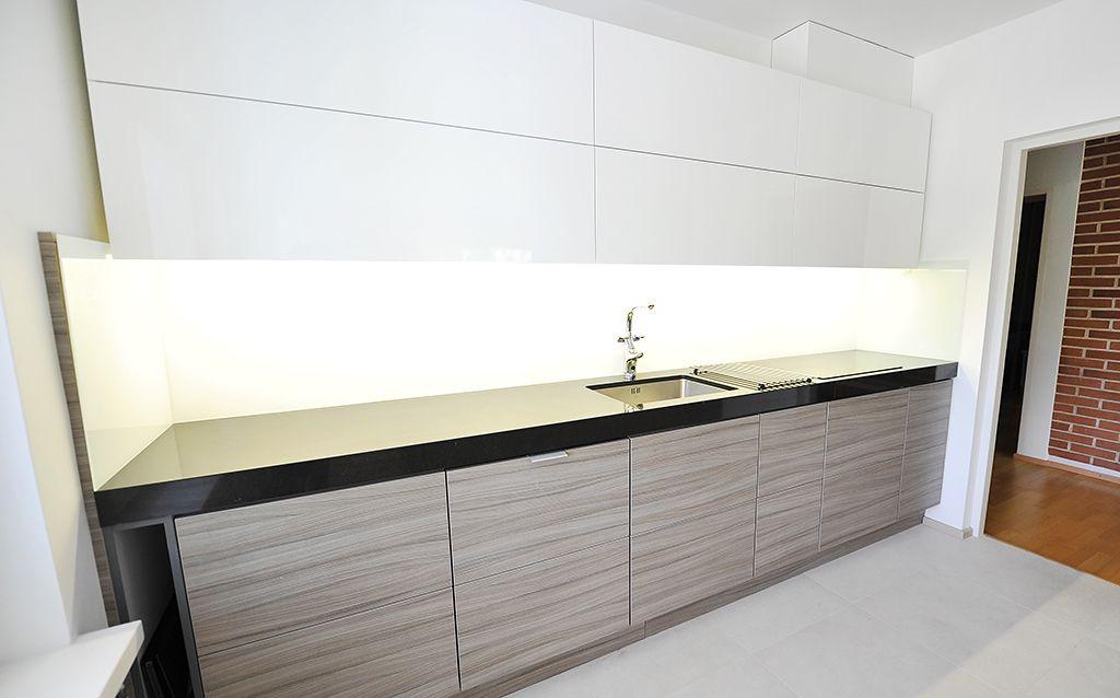 Keittiökalusteet Moderni keittiö (valkea) 1 8  mobile