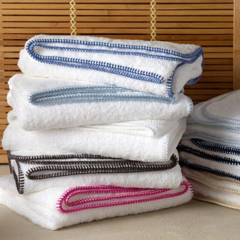 Whipstitch Matching bedding, curtains, Towel, Bath towels
