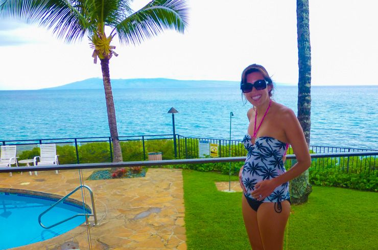 Find out the the pros and cons of a babymoon in Maui, plus get some planning tips to make your Hawaii babymoon fun and romantic.