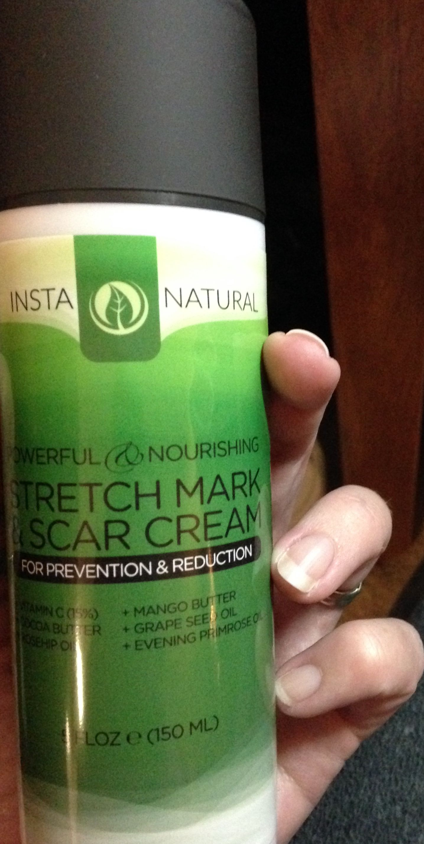 Stretch Mark and Scar Cream from InstaNatural   #instanatural on Amazon here: http://www.amazon.com/Stretch-Cream--HUGE-Reduces-Prevents/dp/B00O14R17Q/ref=sr_1_1?ie=UTF8&qid=1416374170&sr=8-1&keywords=instanatural+stretch+mark+and+scar+cream