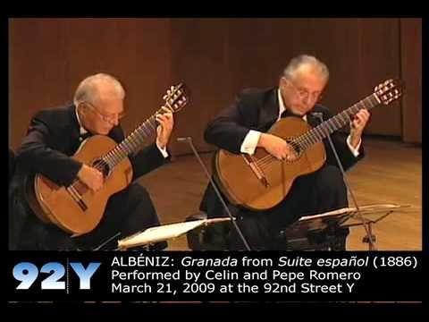 Los Romero: 50th Anniversary Concert at 92Y - ALBÉNIZ: Granada from Suite española (1886) | http://92Y.org/Concerts