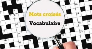 Mots croisés - Vocabulaire - ABA English