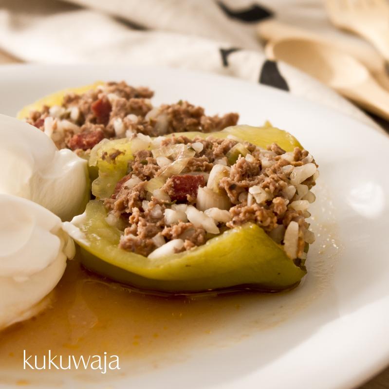 #dolma #gefülltepaprika #rezept #recipe #blog #dolmades  http://kukuwaja.blogspot.de/