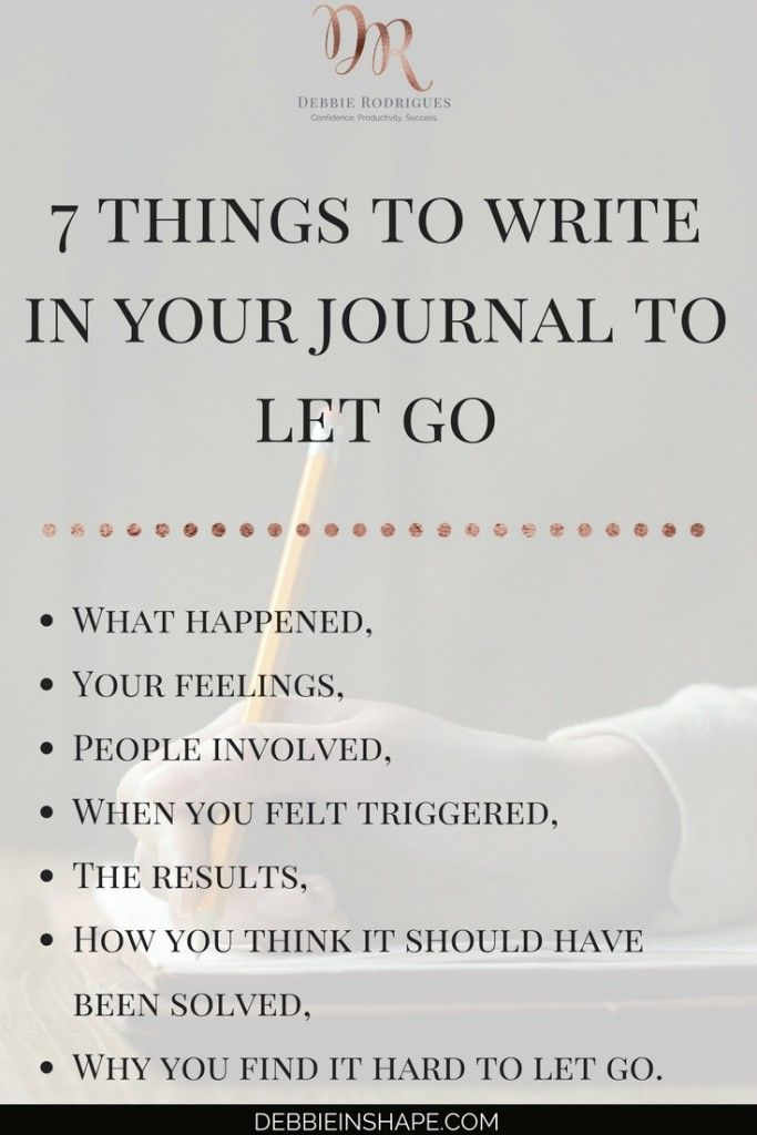 How To Use Journaling To Help You Forgive - Debbie Rodrigues