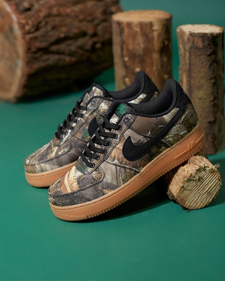 separation shoes c7ee3 8d307 Nike Air Force 1  Realtree