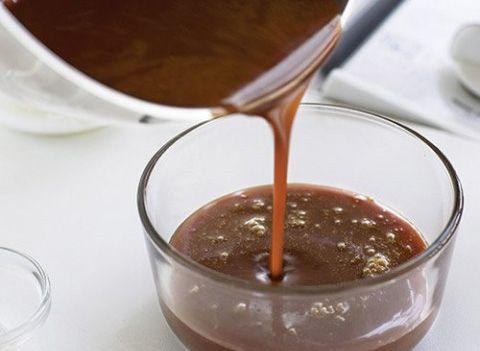 Calda De Chocolate Meio Amargo Calda Para Molhar Bolo Receitas