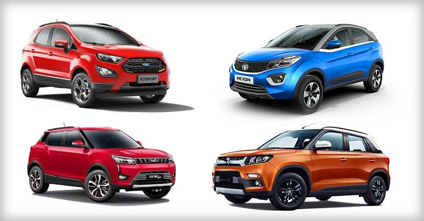 From Xuv 300 To Brezza It S Raining Small Suvs In India Small Suv Compact Suv Ford Ecosport