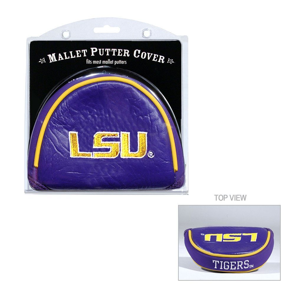 LSU Tigers NCAA Putter Cover - Mallet