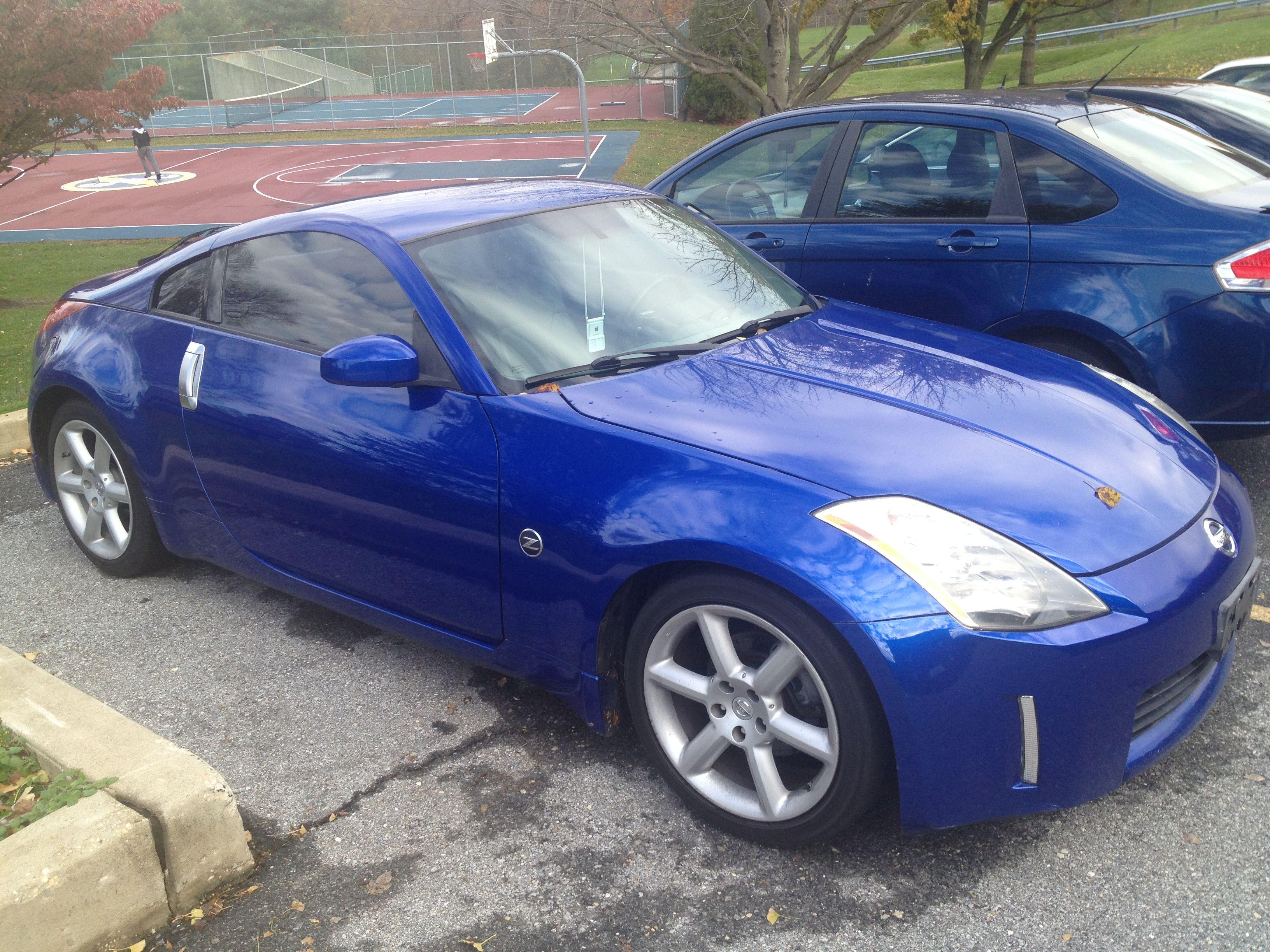 Blue 350z
