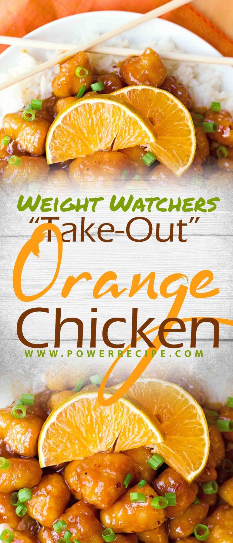 """Take-Out"" Orange Chicken – All about Your Power Recipes #chineseorangechicken"
