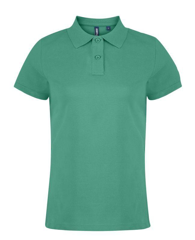 Asquith /& Fox Mens Plain Short Sleeve Polo Shirt