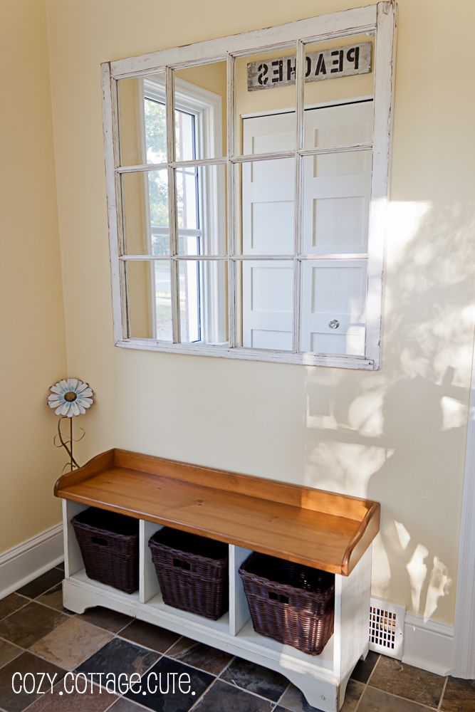 Old window frame to mirror, think I am going to attempt this! | Home ...
