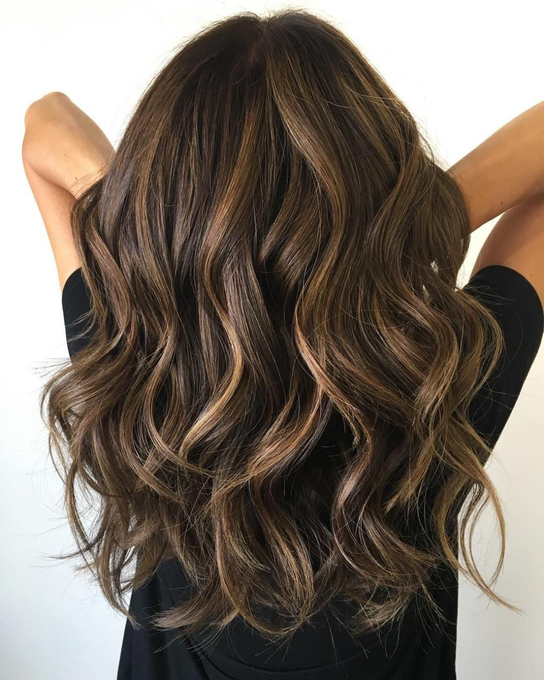 cute layered hairstyles and cuts for long hair balayage