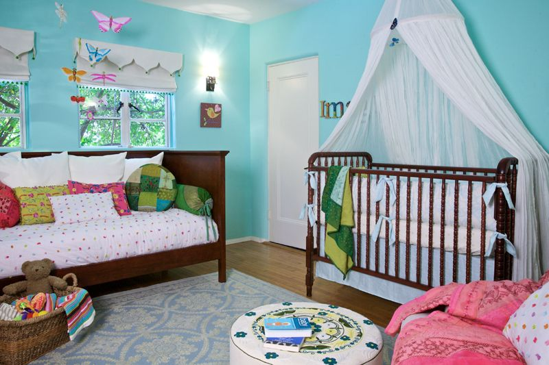 We love the artfully inspired nursery bedding, home décor and custom textiles from @Annette Howard Tatum! #PNapproved