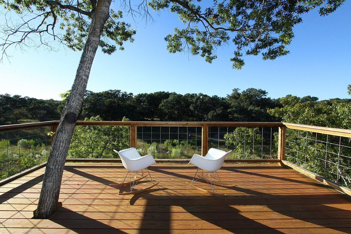 Cable deck railing cost - The Pivot Pad A Low Cost Modern Dwelling With 2 Bedrooms In 1 000 Sq