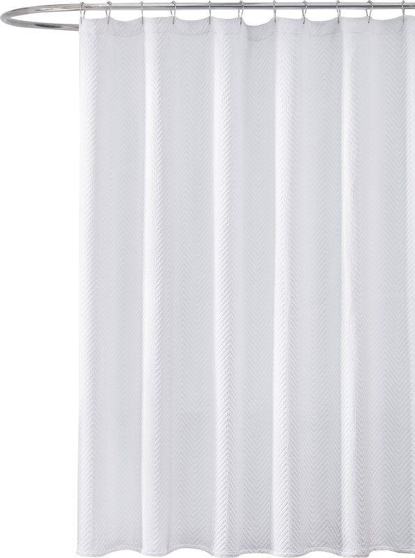 Gaetane Cotton Chevron Shower Curtain Reviews
