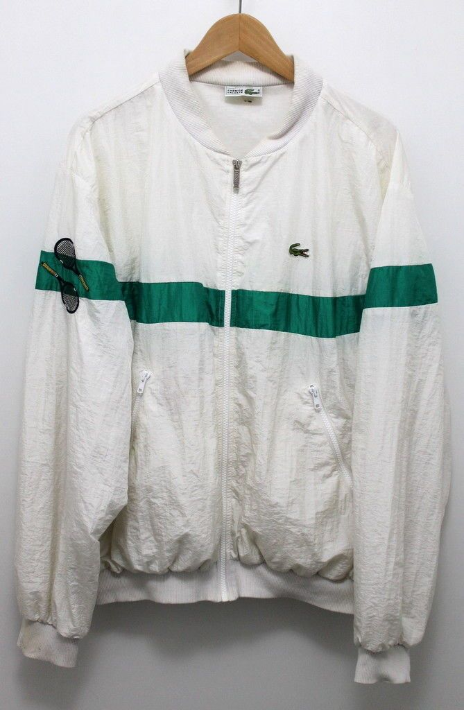 Lacoste Chemise. Lacoste chest logo. Tennis rackets on the right