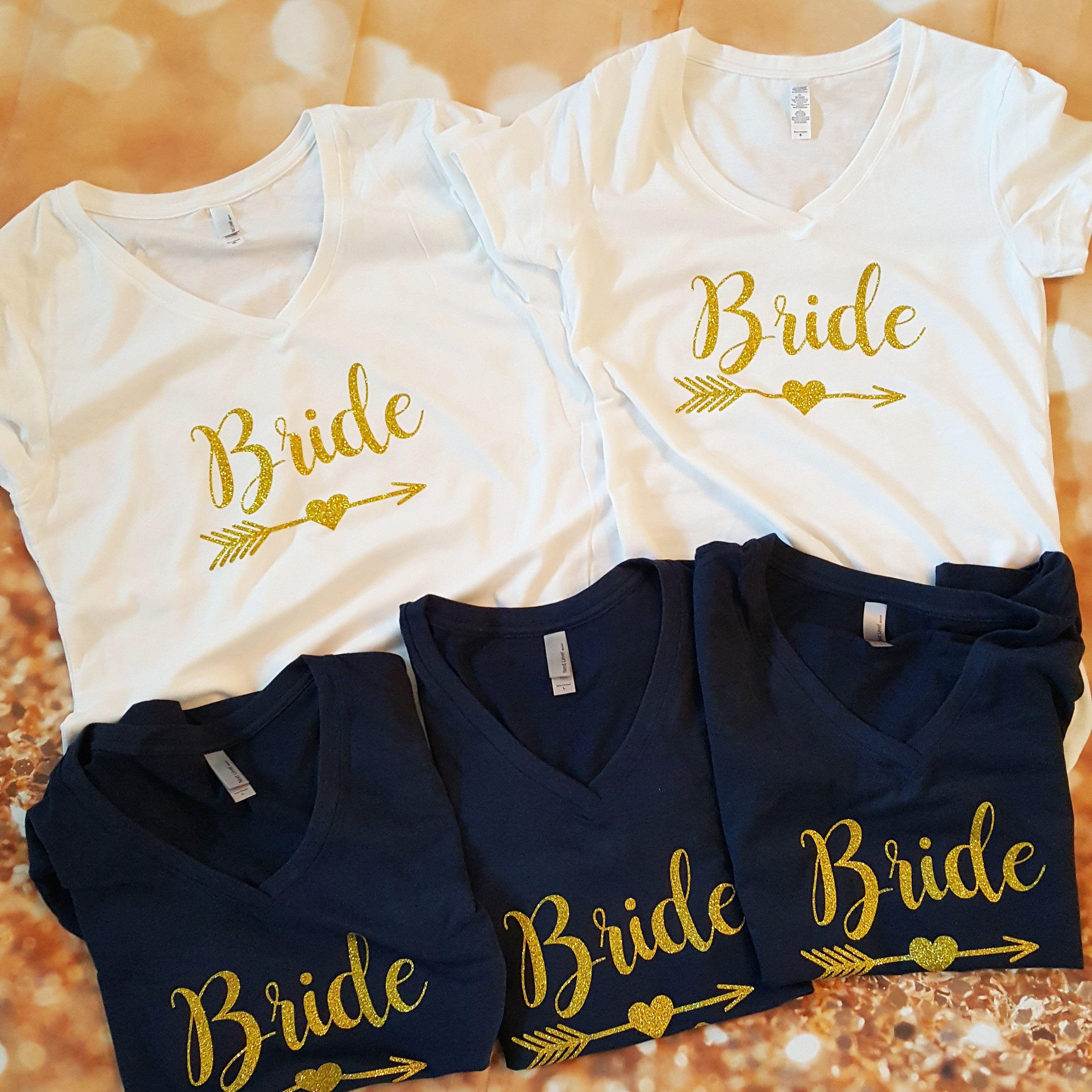 ac0b866e87733 Personalized Shirt-Bride Shirt-Wedding-Bride-Bridesmaid-Tribe-Team ...