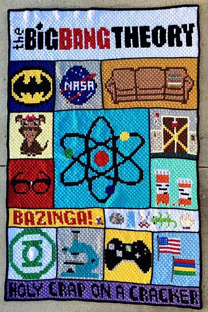 The Big Bang Theory C2C CAL pattern by Donna & Michaelene