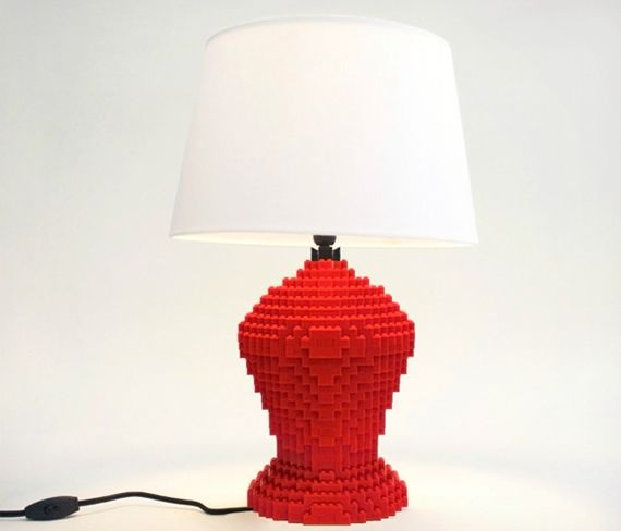 Lego Table Lamp By Sean Kenney Lego Lamp Lamp Unique Lamps