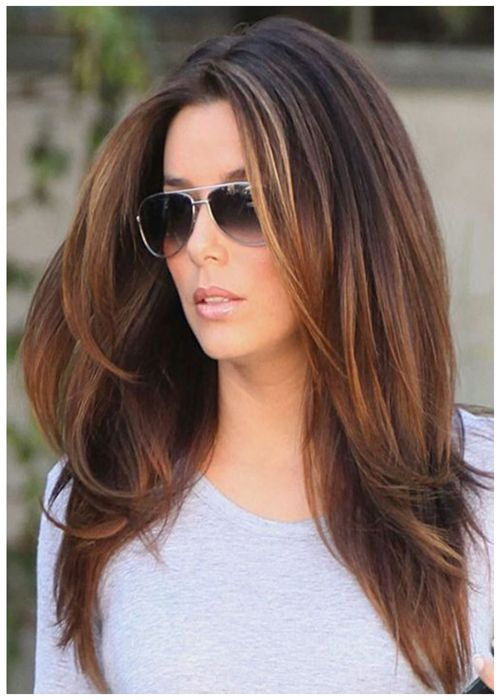 Best Choice Long Hairs Brown Color Perfect Look Hairstyles 2017 Daily Free Styles Long Layered Hair Hair Styles Medium Hair Styles
