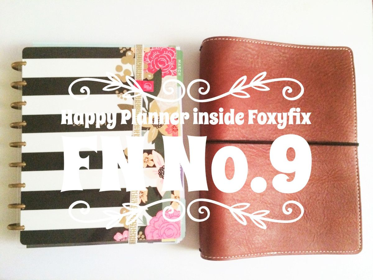 This idea came to me recently. I purchased Foxyfix Cover Grand No. 9 for my blogging and social media trackers however I have not gotten around to setting it up so it is just a cover laying around …