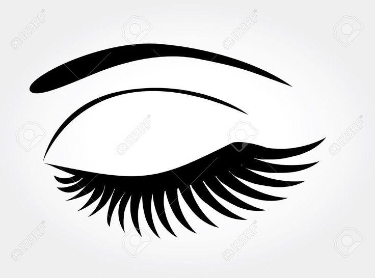 Image Result For Lashes Illustration Lash Illustration Makeup Logo Design Lashes Logo