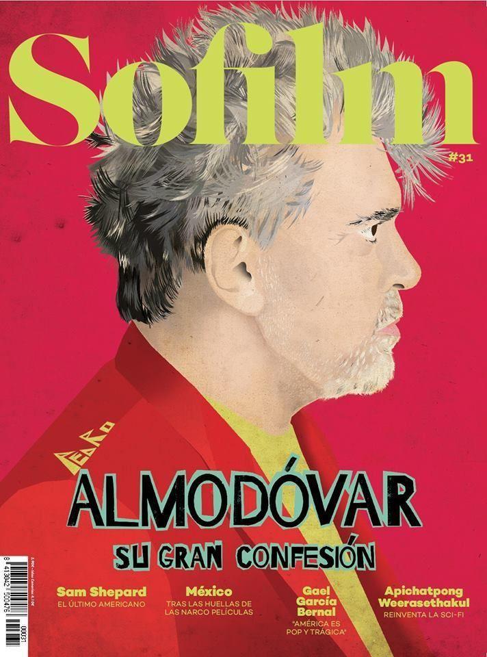 So Film movie magazine Pedro Almodovar Sam Shepard Gael Garcia Bernal Mexico